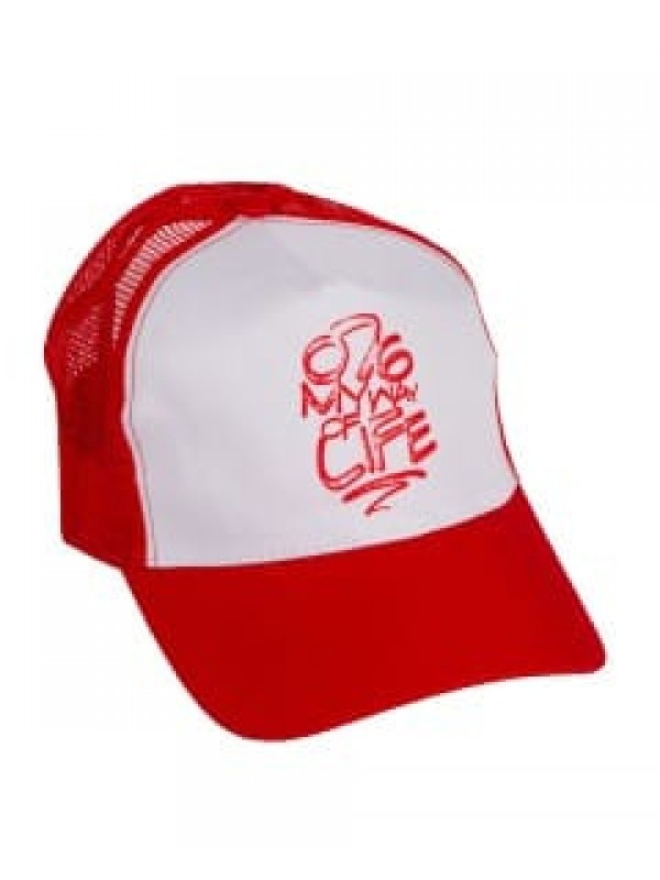 Truckerscap rood | 076MWOL rood
