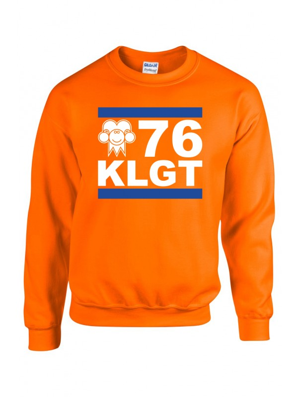 Sweater Oranje | 076KLGT wit