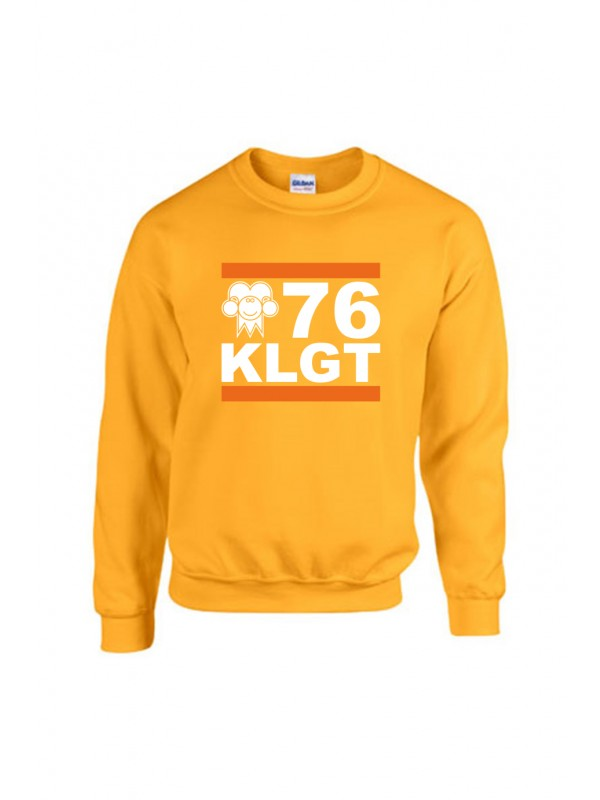 Sweater Geel | 076KLGT wit