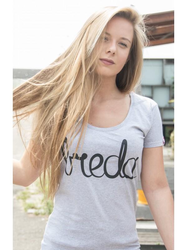 Shirt grijs | Breda zwart