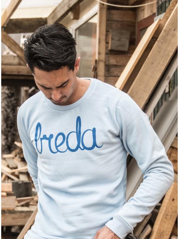 Sweater Licht blauw | Breda blauw