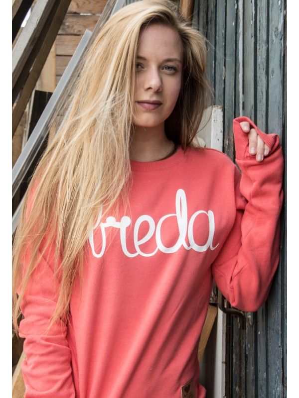 Sweater peach | Breda wit