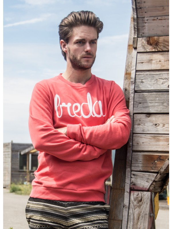 Sweater peach | Breda wit