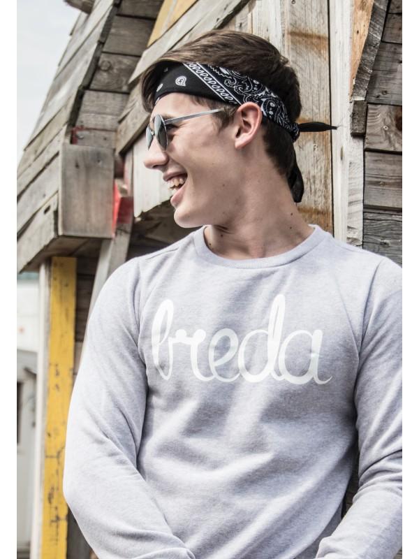 Sweater grijs | Breda wit