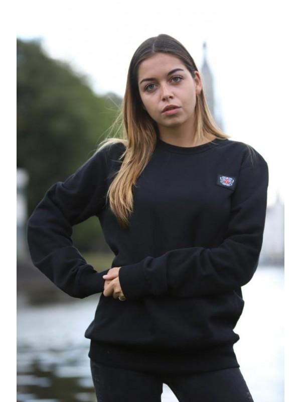 Sweater Zwart | Stadswapen Breda